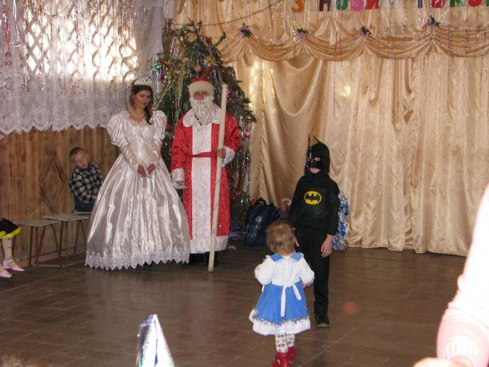 Новокрасненська ЗОШ - Новий рік 2009